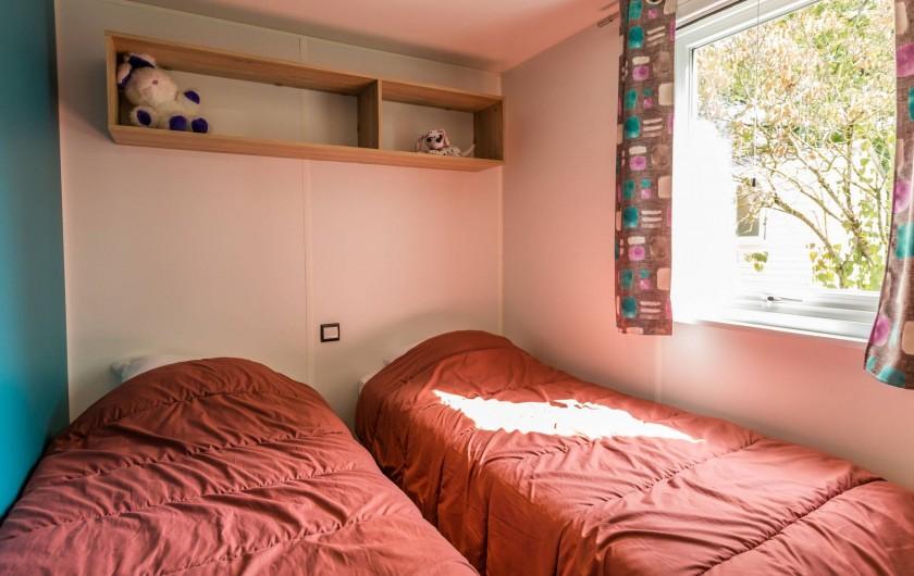 Location de vacances - Bungalow - Mobilhome à Thonon-les-Bains - Chambre enfants