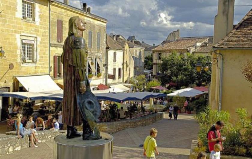 Location de vacances - Gîte à La Sauvetat-du-Dropt - Bergerac 25 km