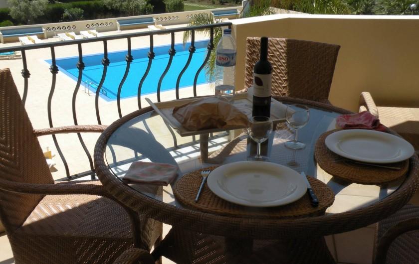 Location de vacances - Appartement à Albufeira - VUE DU SEJOUR