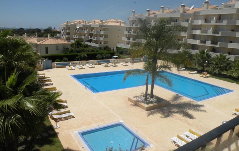 Location de vacances - Appartement à Albufeira - PISCINE VUE DU BALCON