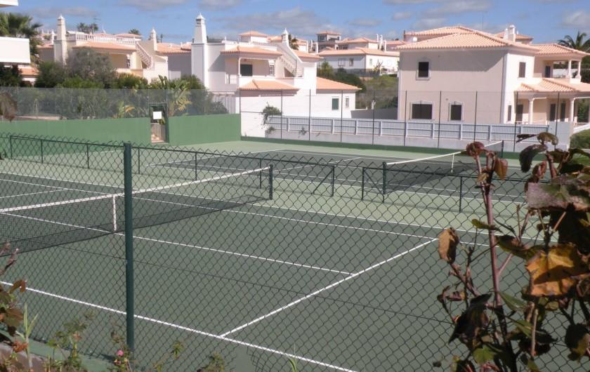 Location de vacances - Appartement à Albufeira - 2 COURTS DE TENNIS