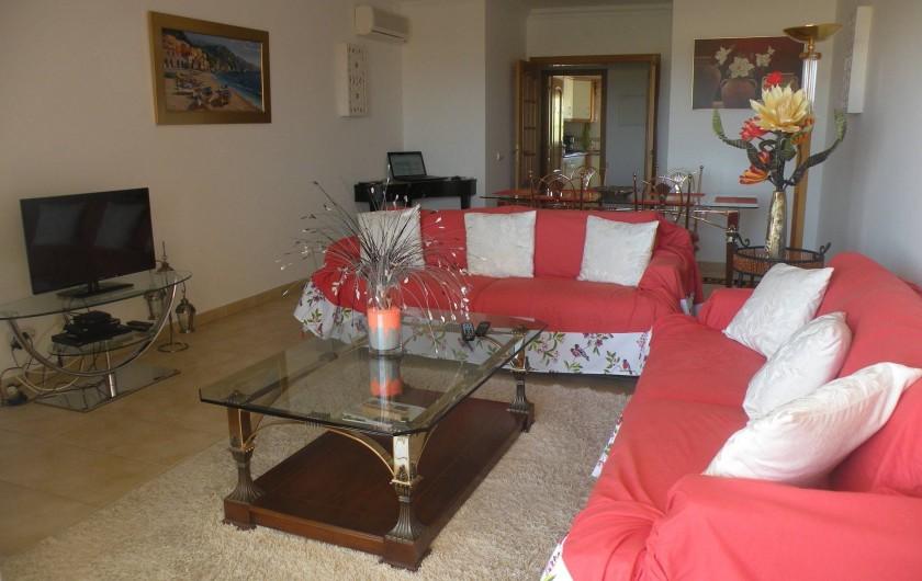 Location de vacances - Appartement à Albufeira - SEJOUR