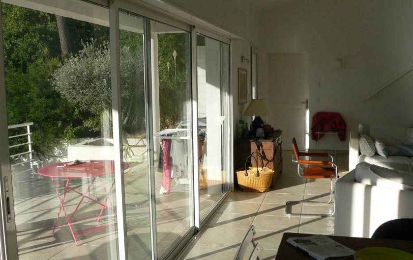 Location de vacances - Villa à Roquebrune-sur-Argens - Pièce à vivre