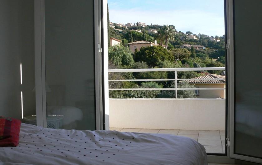 Location de vacances - Villa à Roquebrune-sur-Argens - Chambre 1er étage