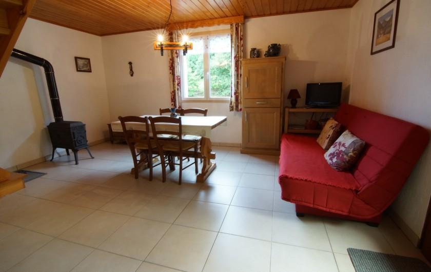 Location de vacances - Gîte à Hohrod - Salon et séjour