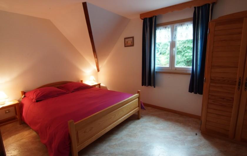 Location de vacances - Gîte à Hohrod - Chambre avec lit double(140)