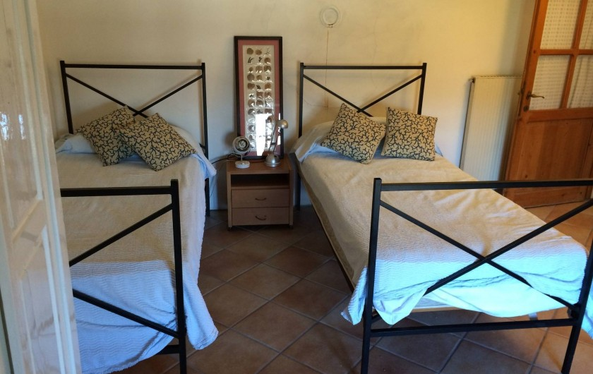 Location de vacances - Maison - Villa à Marano di Valpolicella - Chambre bleue du 2eme etage