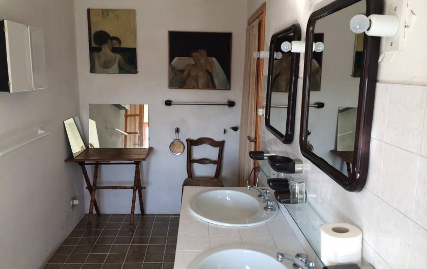 Location de vacances - Maison - Villa à Marano di Valpolicella - Salle de Bain de la grande chambre