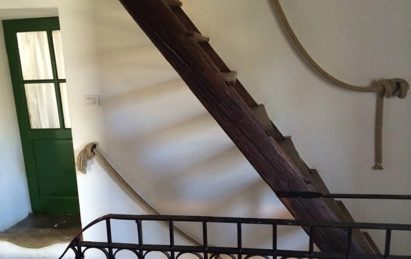 Location de vacances - Maison - Villa à Marano di Valpolicella - Palier du premier