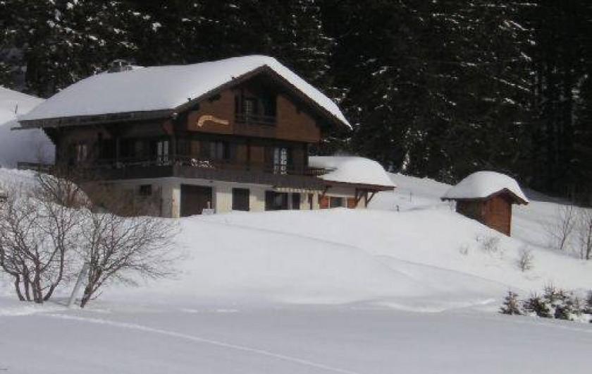 Location de vacances - Appartement à Manigod - en hiver