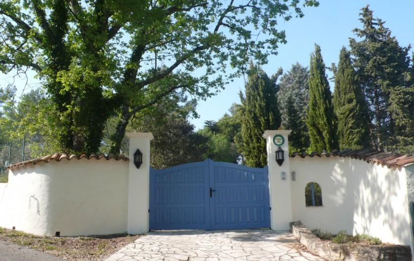 Location de vacances - Mas à Bagnols-en-Forêt - Vous etes arrivé! Bienvenue!