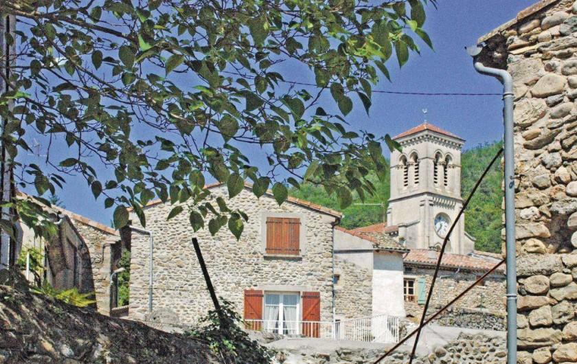 Location de vacances - Maison - Villa à Saint-Fortunat-sur-Eyrieux