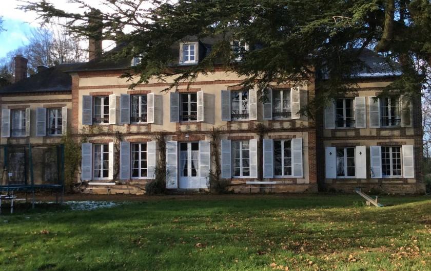 Location de vacances - Château - Manoir à Boissy-lès-Perche - Facade