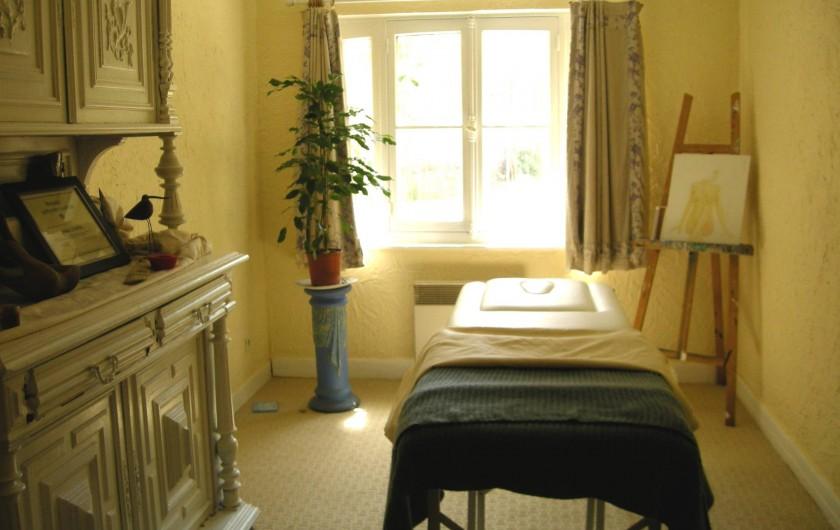 Location de vacances - Château - Manoir à Boissy-lès-Perche - Salle de Massage