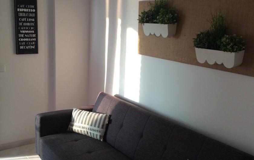 Location de vacances - Appartement à Calp - canapé clic clac (possible pour 2 enfants)