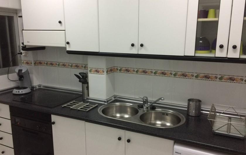 Location de vacances - Appartement à Calp - cuisine