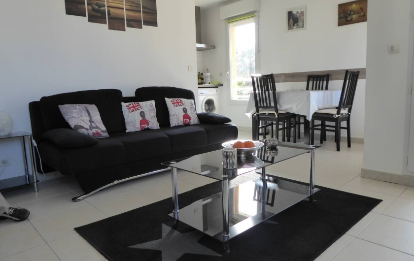 Location de vacances - Appartement à Antibes - La pièce principale
