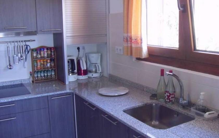 Location de vacances - Villa à Dénia - Cuisine neuve