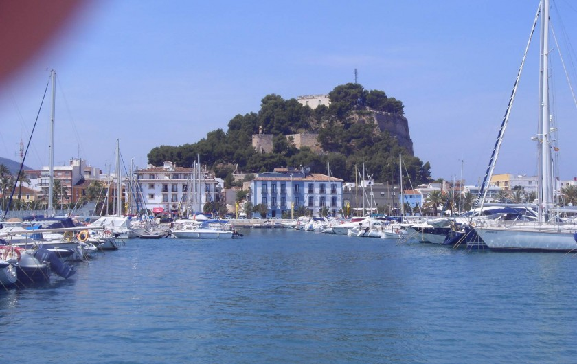 Location de vacances - Villa à Dénia - Citadelle de Denia