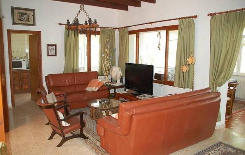 Location de vacances - Villa à Dénia - Coin TV