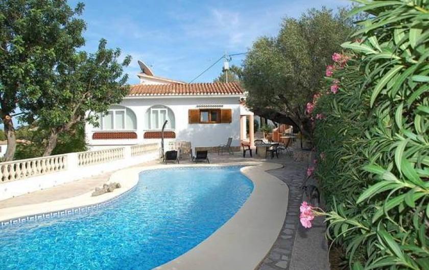 Location de vacances - Villa à Dénia - Piscine 10mx5