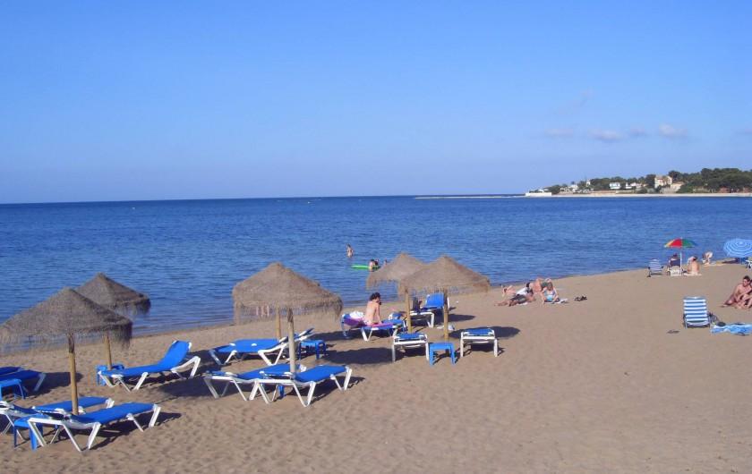 Location de vacances - Villa à Dénia - Plage à proximité