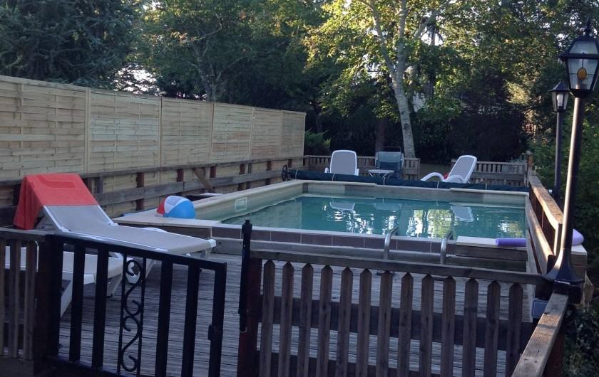 Location de vacances - Gîte à Cénac-et-Saint-Julien - piscine