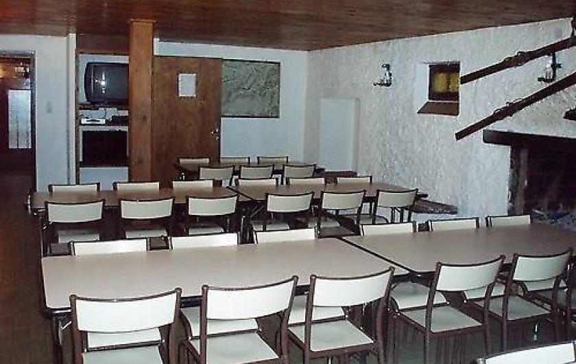 Location de vacances - Chalet à Cornimont - salle à manger 50 places modulables au gré des besoins