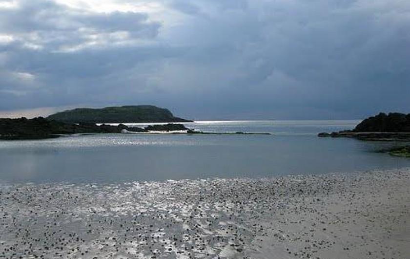 Location de vacances - Maison - Villa à Saint-Malo - La baie de Saint-Malo avec les iles du Grand Bé et de Cézembre