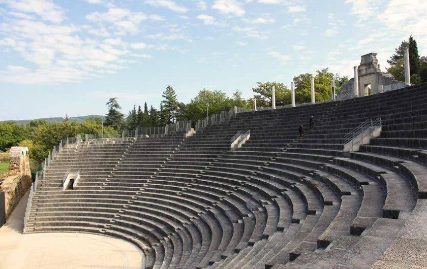 Villa avec piscine priv e dans une propri t situ e - Hotels vaison la romaine avec piscine ...