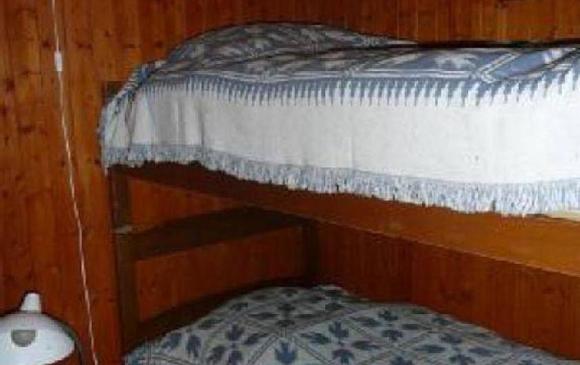 Location de vacances - Chalet à Saint-Gervais-les-Bains - Chambrette avec lits superposés