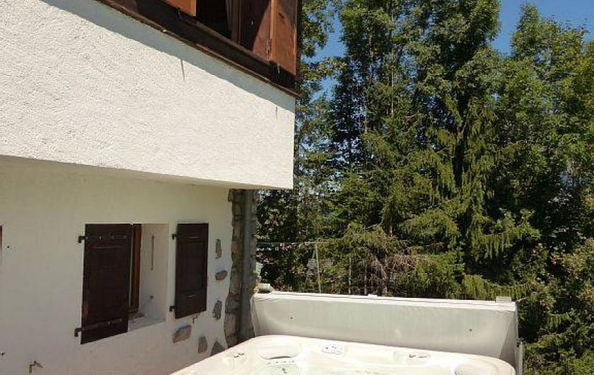 Location de vacances - Chalet à Saint-Gervais-les-Bains - Jacuzzi