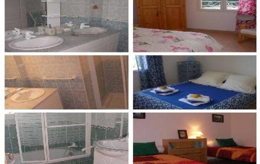Location de vacances - Villa à Roche-Saint-Secret-Béconne - Des images des chambres et des salles de bain.