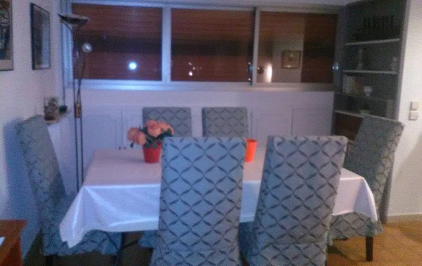 Location de vacances - Appartement à Cannes la Bocca - Salle à manger