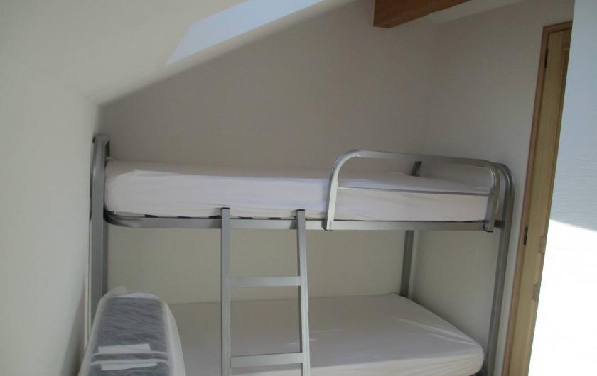 Location de vacances - Maison - Villa à Le Pradet - Chambre 2 lit à étages
