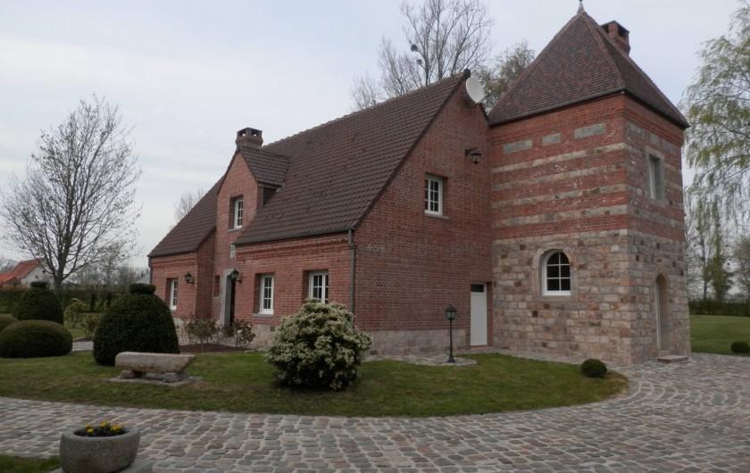 Location de vacances - Chambre d'hôtes à Lebiez - Tour du Manoir