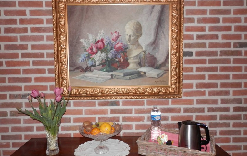 Location de vacances - Chambre d'hôtes à Lebiez - Décoration Intérieure