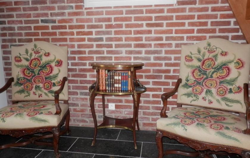 Location de vacances - Chambre d'hôtes à Lebiez - Salon privé