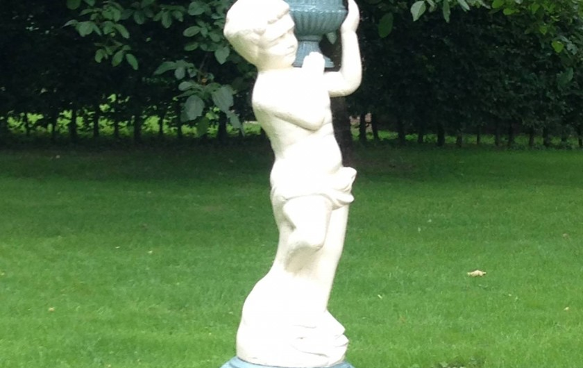Location de vacances - Chambre d'hôtes à Lebiez - Statue du 19ème siècle