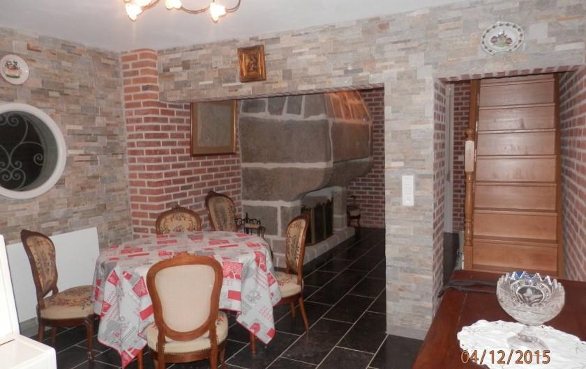 Location de vacances - Chambre d'hôtes à Lebiez - Boudoir