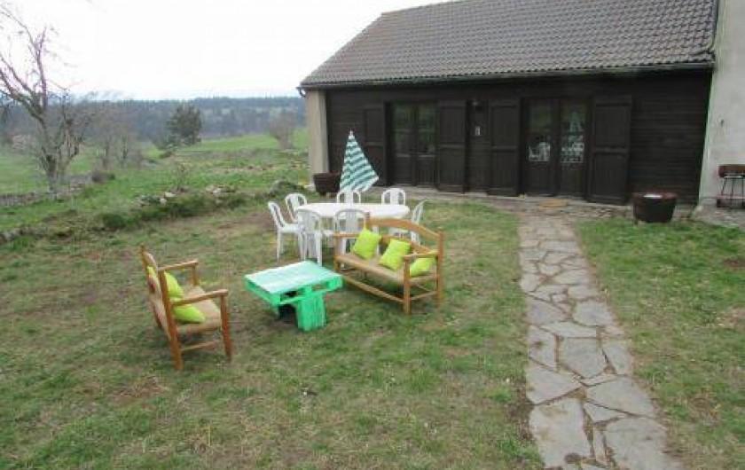 Location de vacances - Gîte à Saint-Sauveur-de-Ginestoux