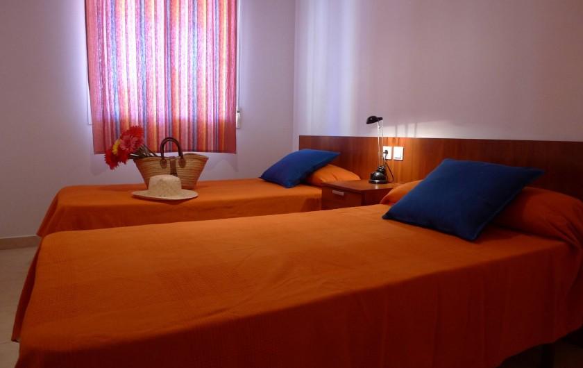 Location de vacances - Appartement à Oropesa del Mar - Chambre