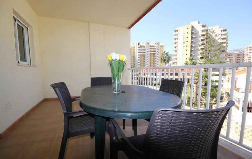 Location de vacances - Appartement à Oropesa del Mar - Terrasse appt.2/3