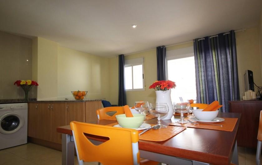 Location de vacances - Appartement à Oropesa del Mar - Cuisine americaine/ Séjour
