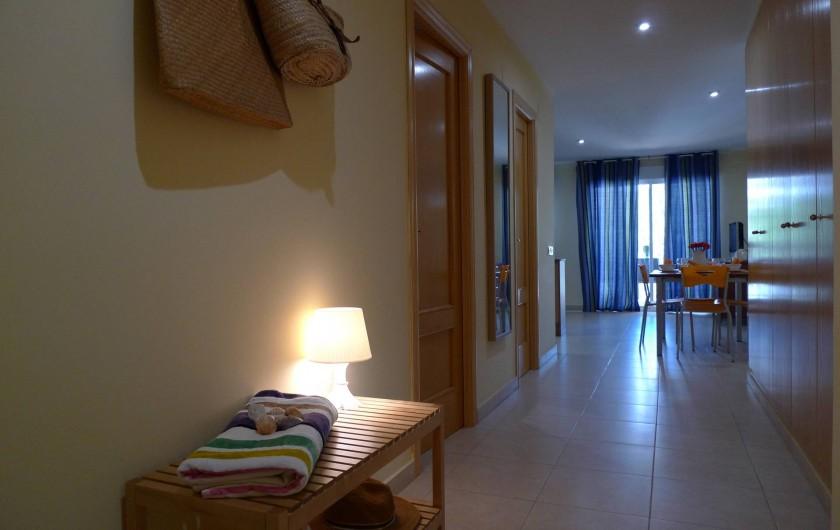 Location de vacances - Appartement à Oropesa del Mar - Entrée appt. 2/3