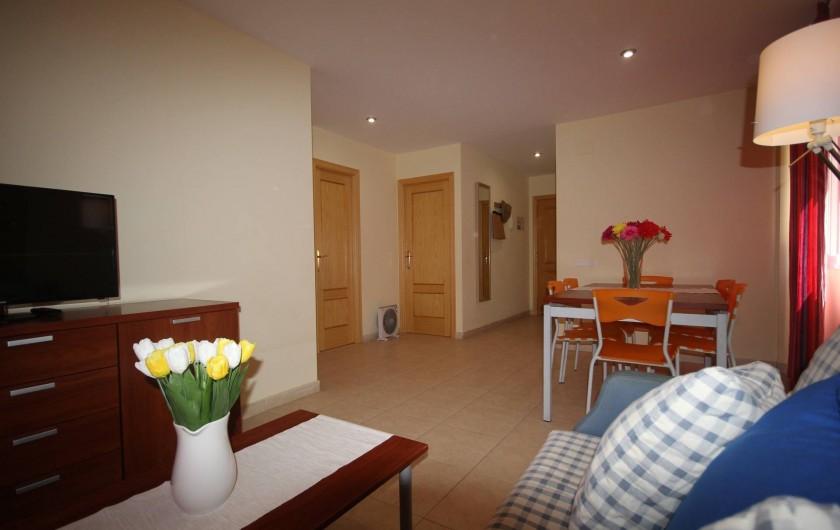 Location de vacances - Appartement à Oropesa del Mar - Séjour appt.4/5