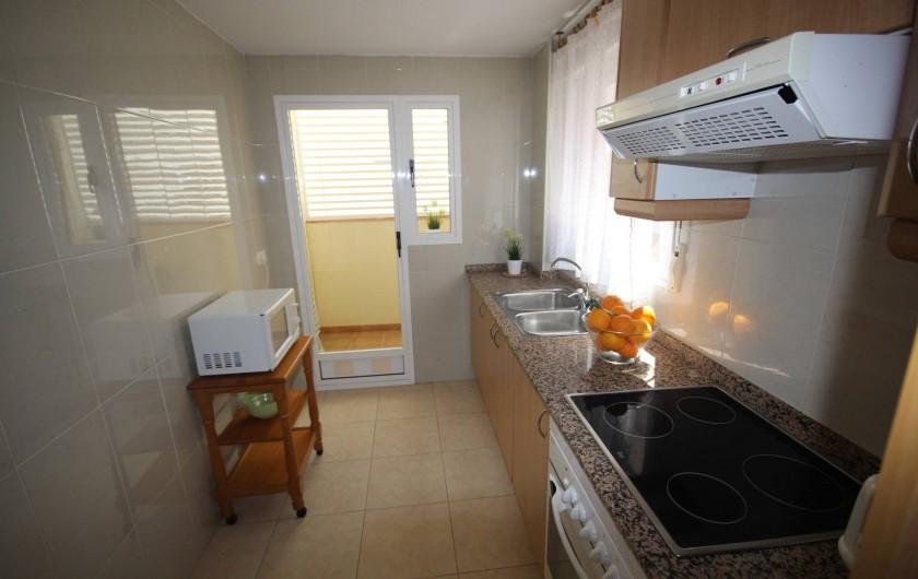 Location de vacances - Appartement à Oropesa del Mar - Cuisine