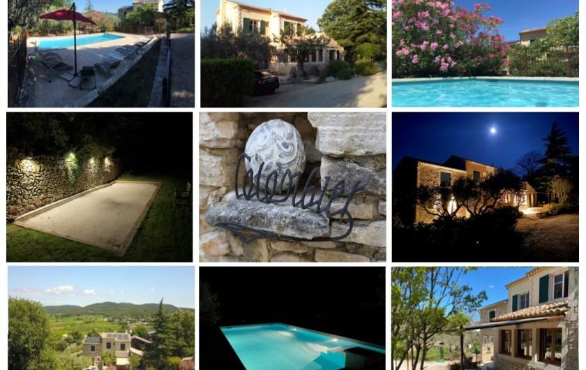 Location de vacances - Mas à Saint-Michel-d'Euzet