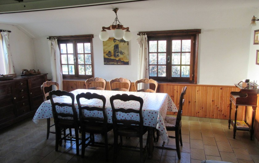 Location de vacances - Gîte à Recques-sur-Hem - La salle à manger