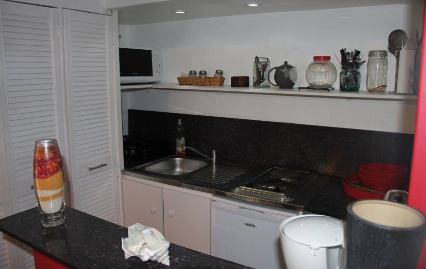 Location de vacances - Appartement à Sainte-Anne - La Kitchenette